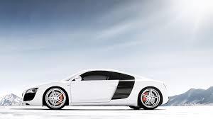 white audi r8 wallpaper. Brilliant Wallpaper White Audi R8 V10 2012 Car Wallpaper Intended R