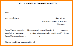 Simple Rental Lease Agreement 6 Simple Rental Contract New Looks Wellness