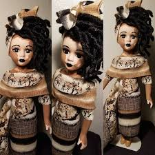 Artist Gives Kids with Vitiligo Custom-Painted Dolls That Look Like Them -  ViralBandit
