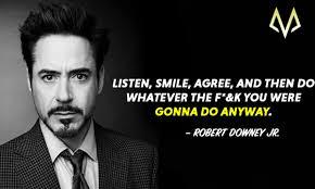 Top 23 Best Robert Downey Jr Quotes Motivationgrid