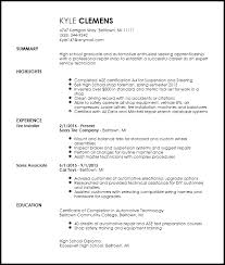 Mechanic Resume Extraordinary Free Entry Level Mechanic Resume Template ResumeNow