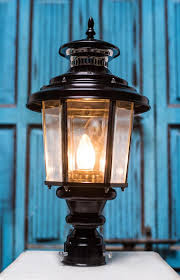 lantern style lighting. Buy LANTERN STYLE OUTDOOR POLE LARGE GATE LIGHT Online Lantern Style Lighting E