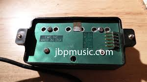 mod guitar dot com guitar mods and hints from jim pearson emg here s a nice oem emg hz pickup from the back the quick connect installed i like the quick connect on emgs and on seymour duncan s blackouts i love