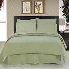 com 8 piece bedding 1200 thread count down alternative comforter black queen home kitchen