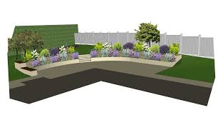 Small Picture Rear Garden Design Visualisation Garden Design Layout Garden