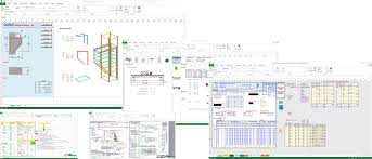 Pad Foundation Design Example Premium Civil Engineering Spreadsheets Collection Civil