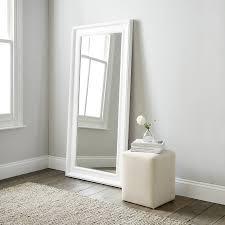Good White Floor Mirror Mirror Ideas Popular White Floor Mirror
