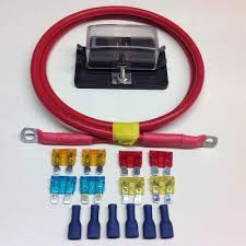 fuse box kits 4 way blade type fuse box lead fuses