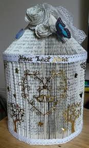 birdcage folded book
