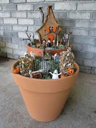 how to make a spooky halloween fairy house and garden halloween