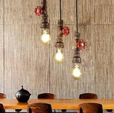 industrial style dining room lighting. Beautiful Industrial Vintage Dining Room Lighting Industrial Style Loft  Water Pipe Lamp Pendant Light Fixtures For  With I