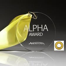 Awana Certificate Of Award Alpha Award And Pin Awana