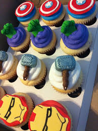 Super Hero Cupcakes This Is Fantastic Party Ideas Avenger