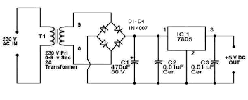 12v power supply circuit diagram ireleast info 5v regulated power supply circuit diagram circuitstune wiring circuit