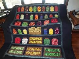 151 best Quilts : jar quilts images on Pinterest | Jars, Stitching ... & I Spy jar quilt pantry setting Adamdwight.com