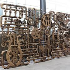 steampunk wall art google search