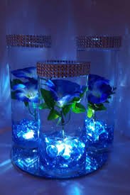 Led Lights For Centerpieces Wedding Centerpiece Floating Flower Centerpiece Led Lights