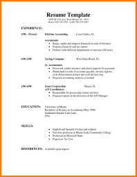 Easy Resume Examples Interesting Example Simple Resume Examples Experience Education Skills