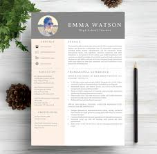 Creative Professional Resume Templates Free Resume Example And