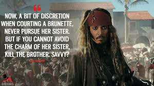 Pirates Of The Caribbean Quotes Pirates of the Caribbean Dead Men Tell No Tales Quotes MagicalQuote 17