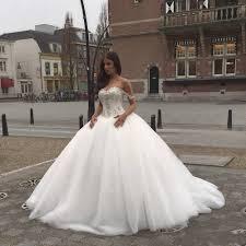 Designer Princess Ball Gown Wedding Dresses Elegant Sweetheart Puffy Ball Gown Beading Princess Floor Length Wedding Dresses Vestido De Noiva Custom Made