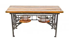 antique hall table. Interesting Antique Hard To Find And Highly Desirable Early 20th Century American Vintage  Industrial Refinished Four Swingout Seat  Throughout Antique Hall Table