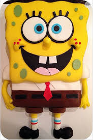 Spongebob Square Pants Cake Birthday Cake Getsetcake New Delhi