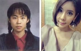 korean plastic surgery korean actresses plastic surgery before and after without make up
