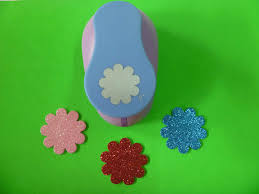 4 Petal Flower Paper Punch Free Shipping 2 Inch About 4 5cm Sun Flower Paper Punch Eva Foam