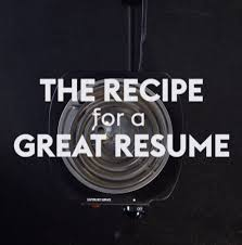 The Recipe For A Great Resume Monster Youtube