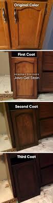 Stain Oak Kitchen Cabinets 17 Best Ideas About Staining Oak Cabinets On Pinterest Oak