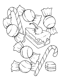 Small Picture Candy Coloring Pages 26149 Bestofcoloringcom
