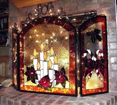 stain glass fire screen stained glass fireplace screen frame fire place screen from artist gallery by a stained glass fireplace stained glass fireplace