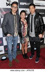 """Christopher Dinh, Amy Okuda & Ki Hong Lee at the """"aka DAN ..."""