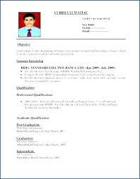 Sample Resume For Teachers Freshers Teaching Fresher Resume 8 Free