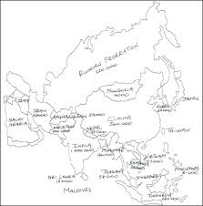 B 17 Coloring Pages Map Of The World Coloring Page World Map