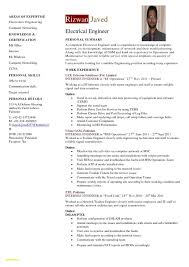 Resume Format For Experienced Electrical Engineers - Lcysne.com