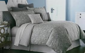 cindy crawford lakota paisley 3pc oversized duvet cover set gray with king covers inspirations 5