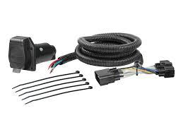 ford explorer 2018 2019 wiring kit harness curt mfg 56306 2018 2019 ford explorer curt mfg trailer wiring kit 56306