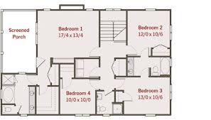 house plans pdf best of 4 bedroom 2 story house plans awesome simple 3 bedroom house