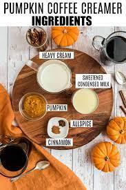 Pumpkin spice coffee creamer {recipe}. Pumpkin Spice Coffee Creamer Recipe Shugary Sweets