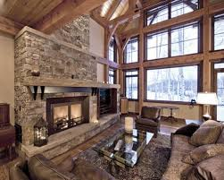 Traditional living room idea in Other with beige walls and a standard  fireplace