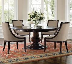 minimalist popular of 60 inch round dining table and set in dining room