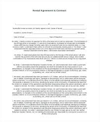 Rental Agreement Ohio Luxury Printable Sample Residential Lease ...
