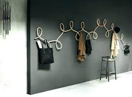 unique wall mounted coat rack unique wall coat racks architecture very attractive design web designer wall