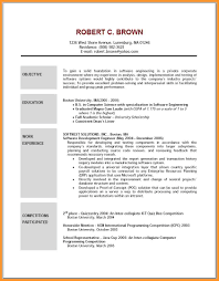 12 Resume Objective Statement Examples Bird Drawing Easy