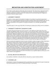 This arbitration agreement template applies the most relevant procedures depending on the dispute type, including options for commercial, consumer, employment, labor union, and construction disputes. Mediation And Arbitration Agreement Template By Business In A Box