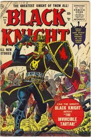 maneely black knight 5 apr 56 comic art
