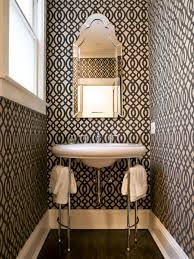 Black And White Bathroom Decor Small Bathroom Decorating Ideas Hgtv