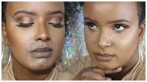 how to fix cakey make up brown dark skin